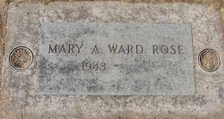 WARD, MARY A - Marion County, Oregon | MARY A WARD - Oregon Gravestone Photos