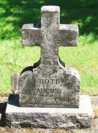 ROTH, AUGUST - Marion County, Oregon | AUGUST ROTH - Oregon Gravestone Photos