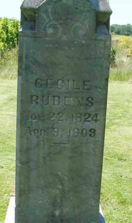 RUBENS, CECILE - Marion County, Oregon | CECILE RUBENS - Oregon Gravestone Photos