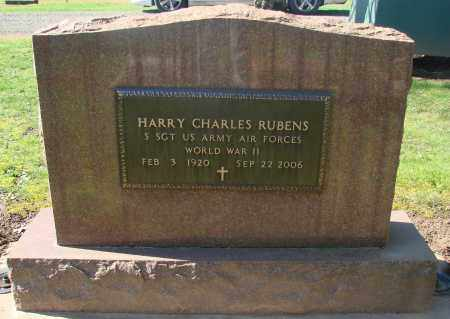 RUBENS (WWII), HARRY CHARLES - Marion County, Oregon | HARRY CHARLES RUBENS (WWII) - Oregon Gravestone Photos