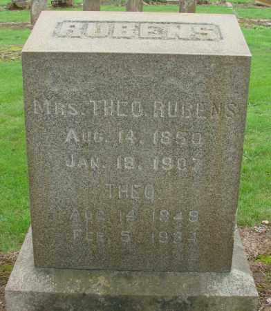 RUBENS, CEDORNA - Marion County, Oregon   CEDORNA RUBENS - Oregon Gravestone Photos