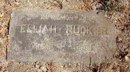 RUCKER, ELIJAH - Marion County, Oregon | ELIJAH RUCKER - Oregon Gravestone Photos