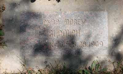 RUDOLPH, PYRA MOREY - Marion County, Oregon | PYRA MOREY RUDOLPH - Oregon Gravestone Photos