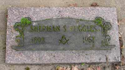 RUGGLES, SHERMAN SAMUEL - Marion County, Oregon | SHERMAN SAMUEL RUGGLES - Oregon Gravestone Photos