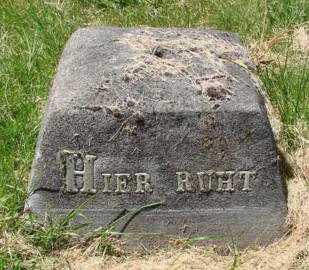 RUHT, HIER - Marion County, Oregon   HIER RUHT - Oregon Gravestone Photos