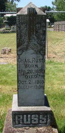 RUSS, CHARLES - Marion County, Oregon | CHARLES RUSS - Oregon Gravestone Photos