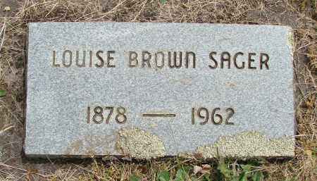 BROWN, LOUISE - Marion County, Oregon | LOUISE BROWN - Oregon Gravestone Photos