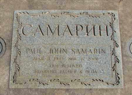 SAMARIN, PAUL JOHN - Marion County, Oregon   PAUL JOHN SAMARIN - Oregon Gravestone Photos