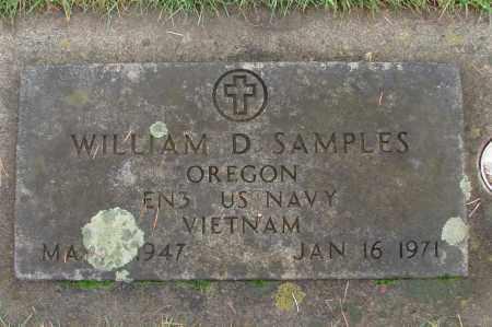 SAMPLES (VN), WILLIAM D - Marion County, Oregon | WILLIAM D SAMPLES (VN) - Oregon Gravestone Photos