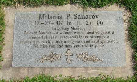 SANAROV, MILANIA PAVELOVNA - Marion County, Oregon   MILANIA PAVELOVNA SANAROV - Oregon Gravestone Photos