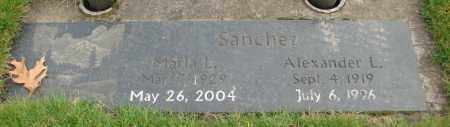 SANCHEZ, ALEXANDER L - Marion County, Oregon | ALEXANDER L SANCHEZ - Oregon Gravestone Photos