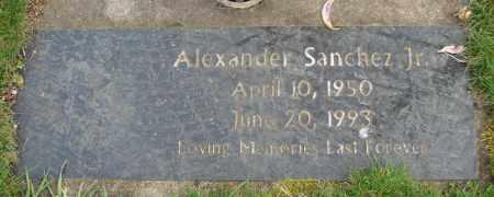 SANCHEZ, ALEXANDER JR - Marion County, Oregon | ALEXANDER JR SANCHEZ - Oregon Gravestone Photos