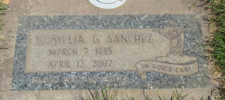 SANCHEZ, ROMELIA G - Marion County, Oregon | ROMELIA G SANCHEZ - Oregon Gravestone Photos
