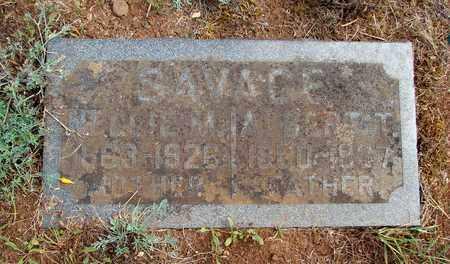 SAVAGE, ALBERT THEODORE - Marion County, Oregon | ALBERT THEODORE SAVAGE - Oregon Gravestone Photos