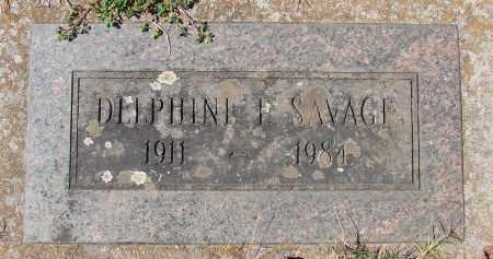 SAVAGE, DELPHINE E - Marion County, Oregon | DELPHINE E SAVAGE - Oregon Gravestone Photos