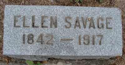 SAVAGE, ELLEN - Marion County, Oregon | ELLEN SAVAGE - Oregon Gravestone Photos