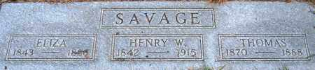 SAVAGE, HENRY WALTER - Marion County, Oregon | HENRY WALTER SAVAGE - Oregon Gravestone Photos