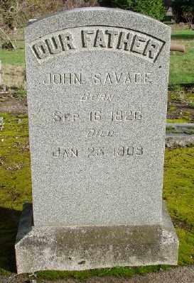 SAVAGE, JOHN - Marion County, Oregon | JOHN SAVAGE - Oregon Gravestone Photos
