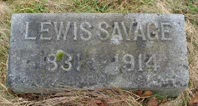 SAVAGE, LEWIS - Marion County, Oregon | LEWIS SAVAGE - Oregon Gravestone Photos