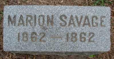 SAVAGE, MARION - Marion County, Oregon | MARION SAVAGE - Oregon Gravestone Photos