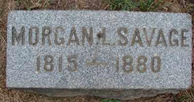 SAVAGE, MORGAN LOUIS - Marion County, Oregon | MORGAN LOUIS SAVAGE - Oregon Gravestone Photos