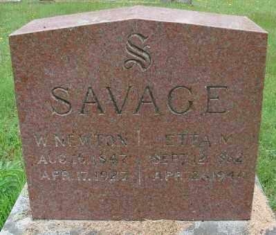 SAVAGE, WILLIAM NEWTON - Marion County, Oregon | WILLIAM NEWTON SAVAGE - Oregon Gravestone Photos