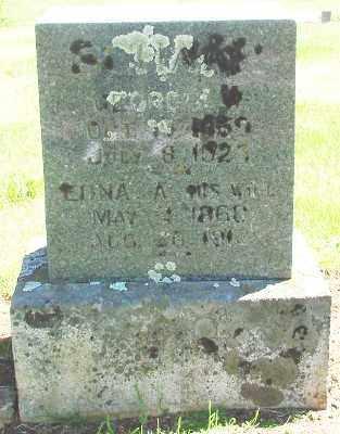 SCHAAP, GEORGE W - Marion County, Oregon | GEORGE W SCHAAP - Oregon Gravestone Photos