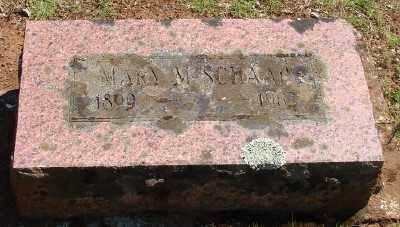 SCHAAP, MARY M - Marion County, Oregon | MARY M SCHAAP - Oregon Gravestone Photos