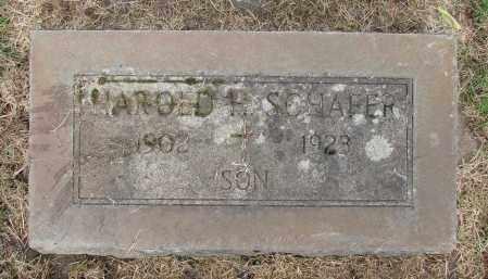 SCHAFER, HAROLD H - Marion County, Oregon   HAROLD H SCHAFER - Oregon Gravestone Photos