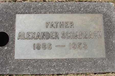 SCHARBACH, ALEXANDER ERNST - Marion County, Oregon | ALEXANDER ERNST SCHARBACH - Oregon Gravestone Photos