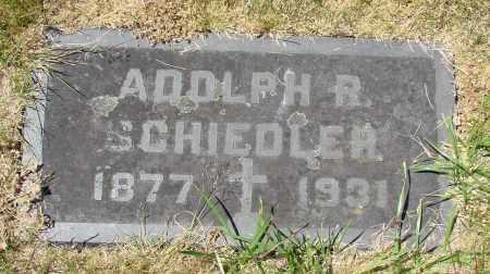 SCHIEDLER, ADOLPH R - Marion County, Oregon | ADOLPH R SCHIEDLER - Oregon Gravestone Photos