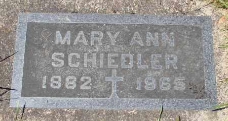SCHIEDLER, MARY ANN - Marion County, Oregon   MARY ANN SCHIEDLER - Oregon Gravestone Photos