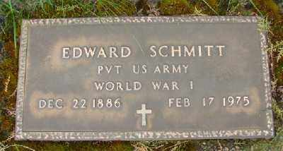 SCHMITT, EDWARD - Marion County, Oregon | EDWARD SCHMITT - Oregon Gravestone Photos