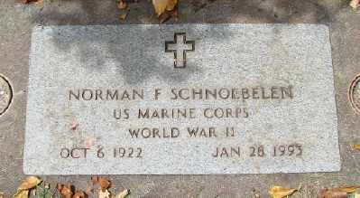 SCHNOEBELEN (WWII), NORMAN - Marion County, Oregon | NORMAN SCHNOEBELEN (WWII) - Oregon Gravestone Photos
