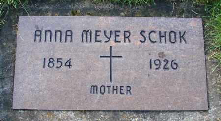 MEYER, ANNA - Marion County, Oregon | ANNA MEYER - Oregon Gravestone Photos