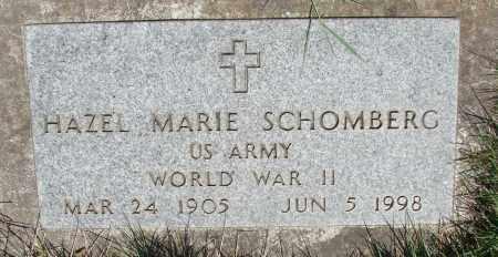 SCHOMBERG, HAZEL MARIE - Marion County, Oregon | HAZEL MARIE SCHOMBERG - Oregon Gravestone Photos
