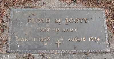 SCOTT (WWI), FLOYD M - Marion County, Oregon | FLOYD M SCOTT (WWI) - Oregon Gravestone Photos