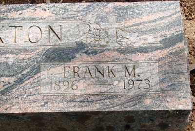 SEXTON, FRANK M - Marion County, Oregon | FRANK M SEXTON - Oregon Gravestone Photos
