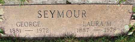 SEYMOUR, LAURA M - Marion County, Oregon | LAURA M SEYMOUR - Oregon Gravestone Photos