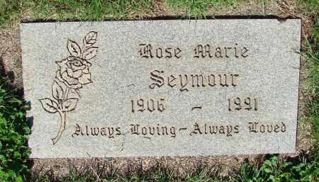 SEYMOUR, ROSE MARIE - Marion County, Oregon | ROSE MARIE SEYMOUR - Oregon Gravestone Photos