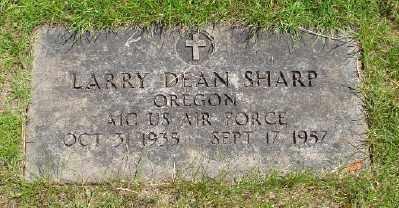 SHARP (SERV), LARRY DEAN - Marion County, Oregon | LARRY DEAN SHARP (SERV) - Oregon Gravestone Photos