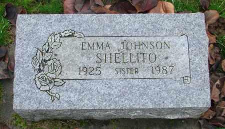 JOHNSON, EMMA ELIZABETH - Marion County, Oregon   EMMA ELIZABETH JOHNSON - Oregon Gravestone Photos