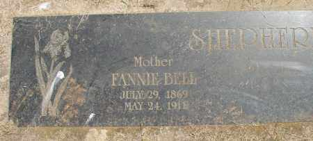 BELL, FANNIE - Marion County, Oregon | FANNIE BELL - Oregon Gravestone Photos