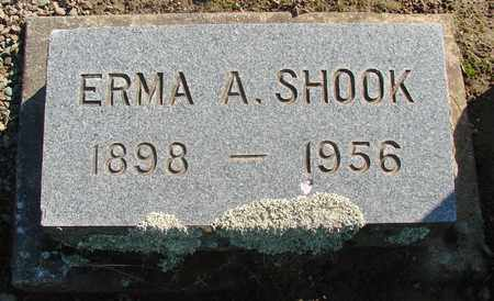 SHOOK, ERMA A - Marion County, Oregon | ERMA A SHOOK - Oregon Gravestone Photos