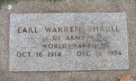 SHRULL (WWII), EARL WARREN - Marion County, Oregon | EARL WARREN SHRULL (WWII) - Oregon Gravestone Photos