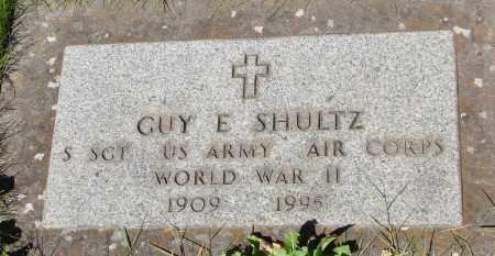 SHULTZ (WWII), GUY E - Marion County, Oregon | GUY E SHULTZ (WWII) - Oregon Gravestone Photos