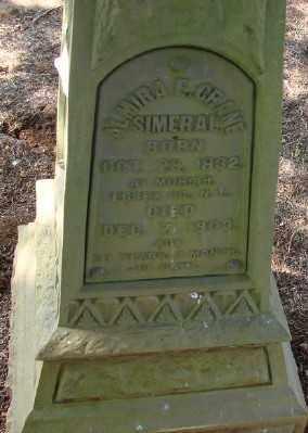 SIMERAL, ALMIRA E - Marion County, Oregon | ALMIRA E SIMERAL - Oregon Gravestone Photos