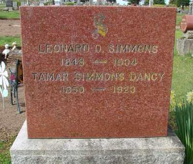 SIMMONS, TAMAR - Marion County, Oregon | TAMAR SIMMONS - Oregon Gravestone Photos