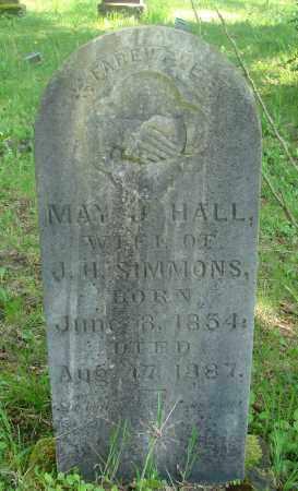 HALL, MAY J - Marion County, Oregon | MAY J HALL - Oregon Gravestone Photos