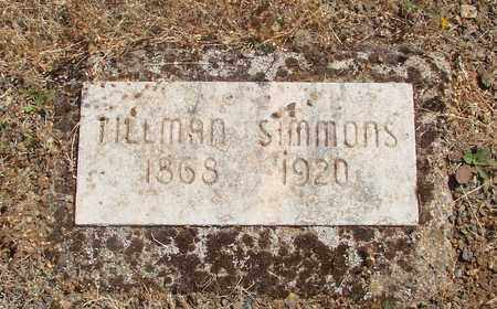 SIMMONS, TILLMAN HUNT - Marion County, Oregon | TILLMAN HUNT SIMMONS - Oregon Gravestone Photos
